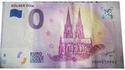 0 euro (Kölner Dom) – avers