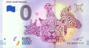 0 euro (Zoo Dortmund) – avers