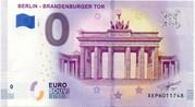 0 euro - Berlin (Brandenburguer Tor) – avers