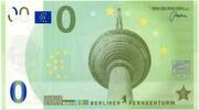 0 Memo euro (Berliner Fernsehturm) – avers