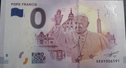 0 euro (Pope Francis) – avers