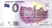 0 euro (Frankfurt Römerberg) – avers