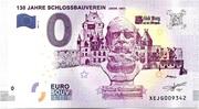 0 euro - 130 Jahre Schlossbauverein (GEGR.1887) – avers