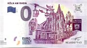 0 euro - Köln am Rhein – avers