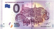 0 Euro - Oktoberfest München – avers