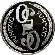 50 Mark - Casino Baden-Baden – revers