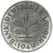 10 Pfennig (Pattern) – avers