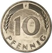 10 Pfennig (Pattern) – revers