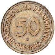 50 Pfennig (Pattern) – revers