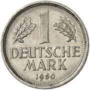 1 Deutsche Mark (Pattern) – revers