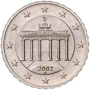 10 Euro Cent (1st map - Pattern) -  avers