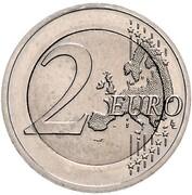 "2 Euro (Bundesländer - ""Hessen"" - Pattern) – revers"