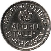 Ahorn Taler - Ahorn Apotheke (Leverkusen) -  revers