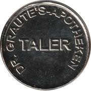 Apotheken Taler - Dr. Graute's Apotheken – avers