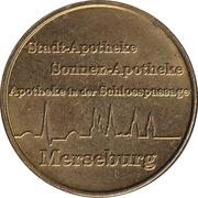 Gesund Gulden - Stadt Apotheke, Sonnen Apotheke & Apotheke in der Schlosspassage (Merseburg) – avers
