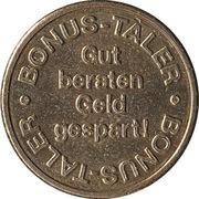 Bonus Taler - Alte Apotheke (G. Hoke) – revers