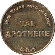 Gold Taler - Tal Apotheke (Erfurt) – avers