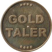 Gold Taler - Tal Apotheke (Erfurt) – revers