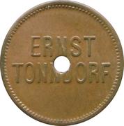 Werth Marke - Ernst Tonndorf (Nürnberg) – avers