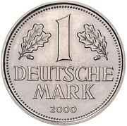 1 deutsche mark (Retrait du mark, essai) – revers