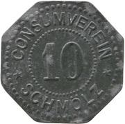 10 pfennig (Schmölz - Consumverein) – avers