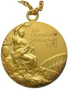 Médaille d'or - Jeux Olympiques (Munich) – avers