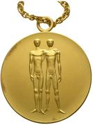 Médaille d'or - Jeux Olympiques (Munich) – revers
