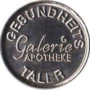 Gesundheits Taler - Galerie Apotheke – avers