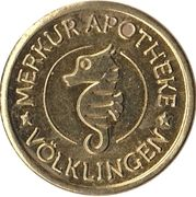 Hippo Taler - Merkur Apotheke (Völklingen) – avers