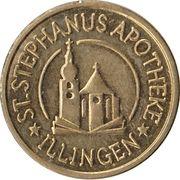 Hippo Taler - St. Stephanus Apotheke (Illingen) – avers