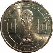 Médaille - Coupe du monde de la FIFA 2006 (Paraguay) – revers