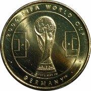 Médaille - Coupe du monde de la FIFA 2006 (Argentine) – revers