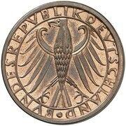 5 Deutsche Mark (Pattern) – avers