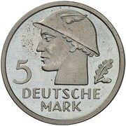 5 Deutsche Mark (Pattern) – revers