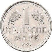 1 Deutsche Mark (Pattern) – avers