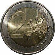 2 euros (2e carte) – revers