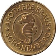 Hippo Taler - Apotheke Kraus (Schönenberg) – avers