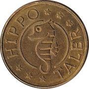 Hippo Taler - Apotheke Kraus (Schönenberg) – revers