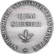 Nürnberger Stadtmeisterschaften – avers