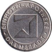 Heiner Taler - Einhorn Apotheke (Darmstadt) – avers