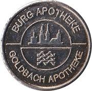 Gesundheits Sammeltaler - Burg Apotheke & Goldhaus Apotheke – avers