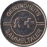 Gesundheits Sammeltaler - Burg Apotheke & Goldhaus Apotheke – revers