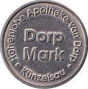 Dorp Mark - Hohenlohe Apotheke van Dorp (Künzelsau) – revers