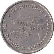Dorp Mark - Hohenlohe Apotheke van Dorp (Künzelsau) – avers