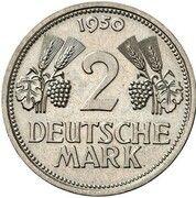2 Deutsche Mark (Pattern) – revers