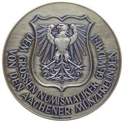 Medal in memorian of Otto Walther – revers