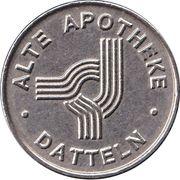 Pharmacy Token - Alte Apotheke (Datteln) – revers