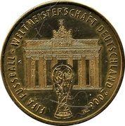 Médaille - Villes de la coupe du monde de la FIFA 2006 (Berlin) – avers