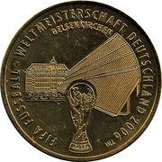Médaille - Villes de la coupe du monde de la FIFA 2006 (Gelsenkirchen) – avers