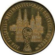 Médaille - Villes de la coupe du monde de la FIFA 2006 (Cologne) – avers